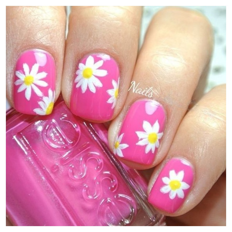Spring Glossy Nails Designs 2018 Colors