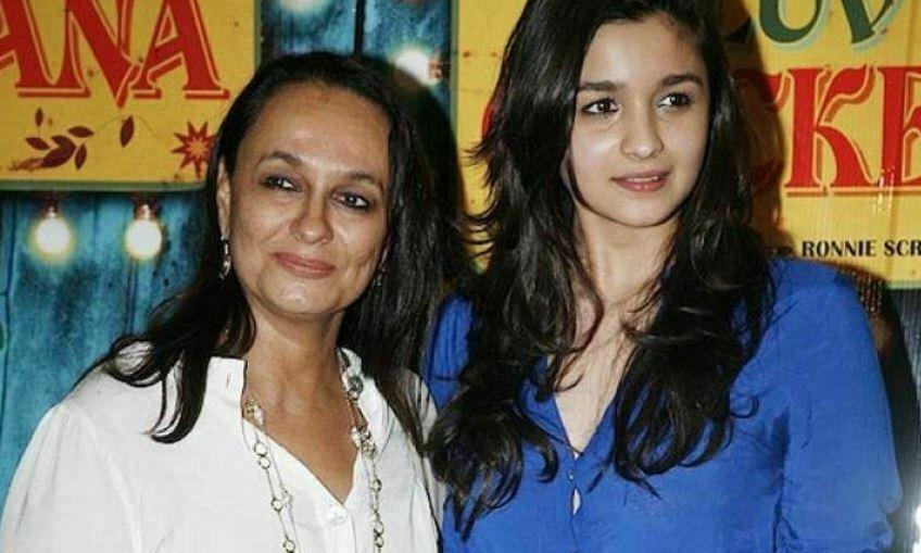 Alia Bhatt's mother Soni Razdan