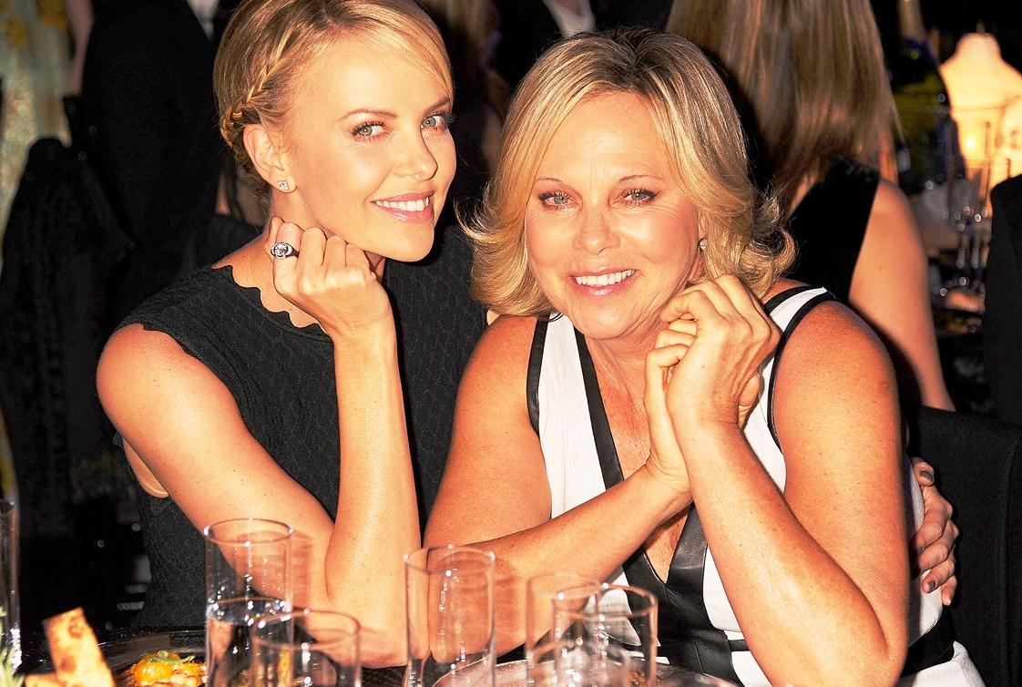 Charlize Theron's Mom Gerda Jacoba Aletta Maritz like young photos