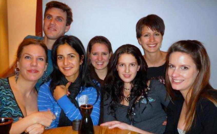 Bollywood Actress Katrina Kaif Family Picture