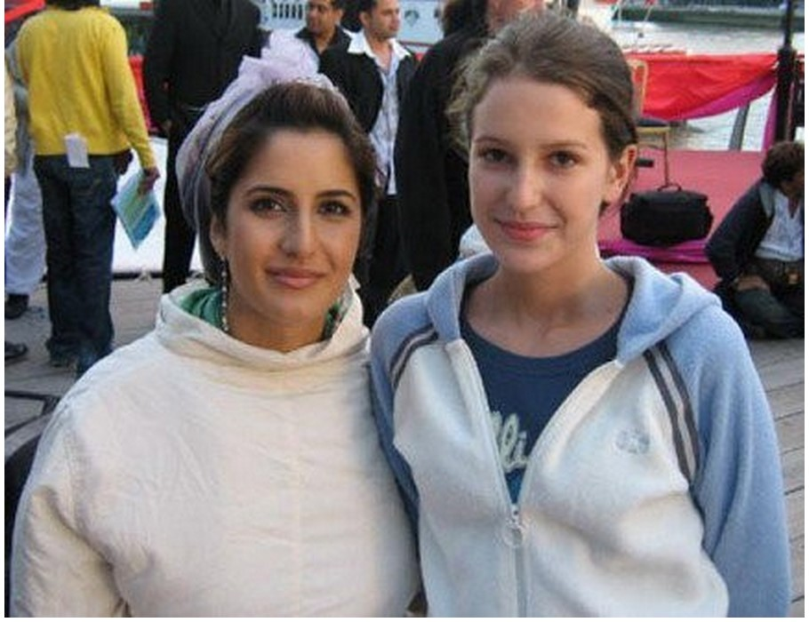 Katrina Kaif in winter season with sisters