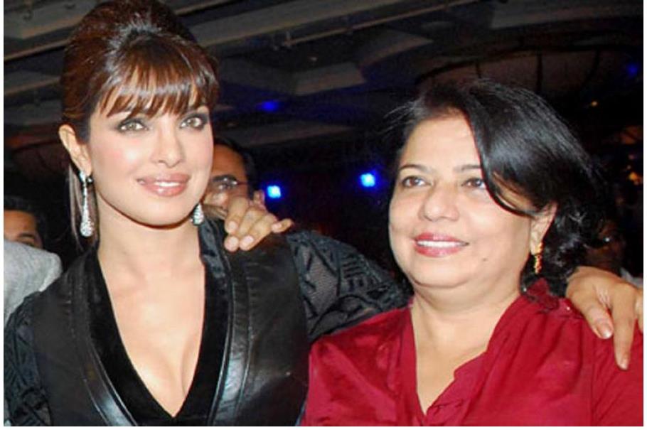 Priyanka Chopra picture with mother Madhu Chopra.