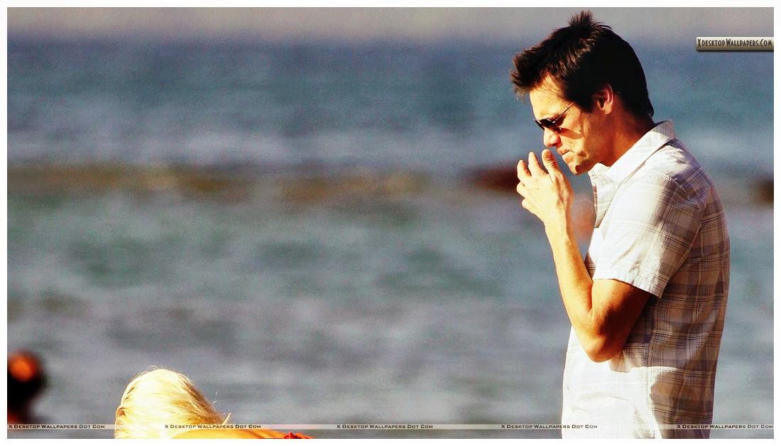 Beach Jim Carrey Photos