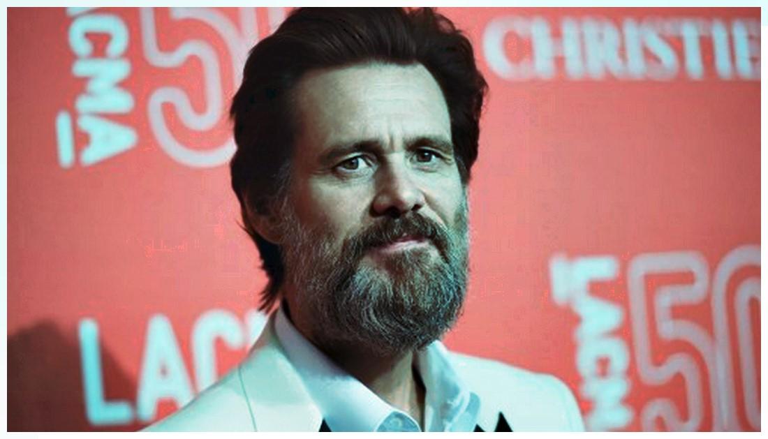 Jim Carrey Beard Photos