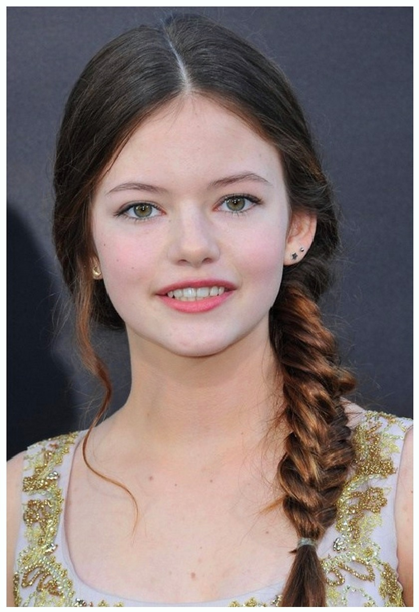 Get Side Fishtail Hairstyle for girls