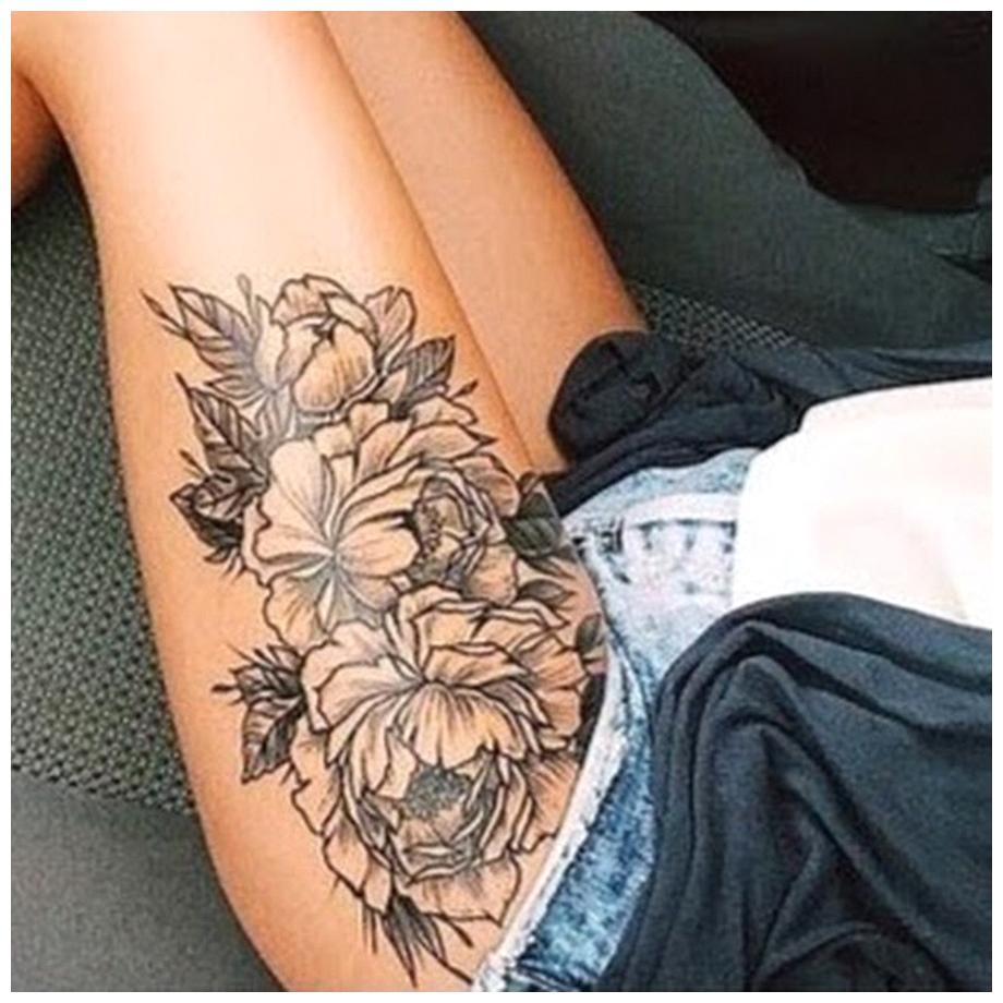Thigh Tattoos New for married