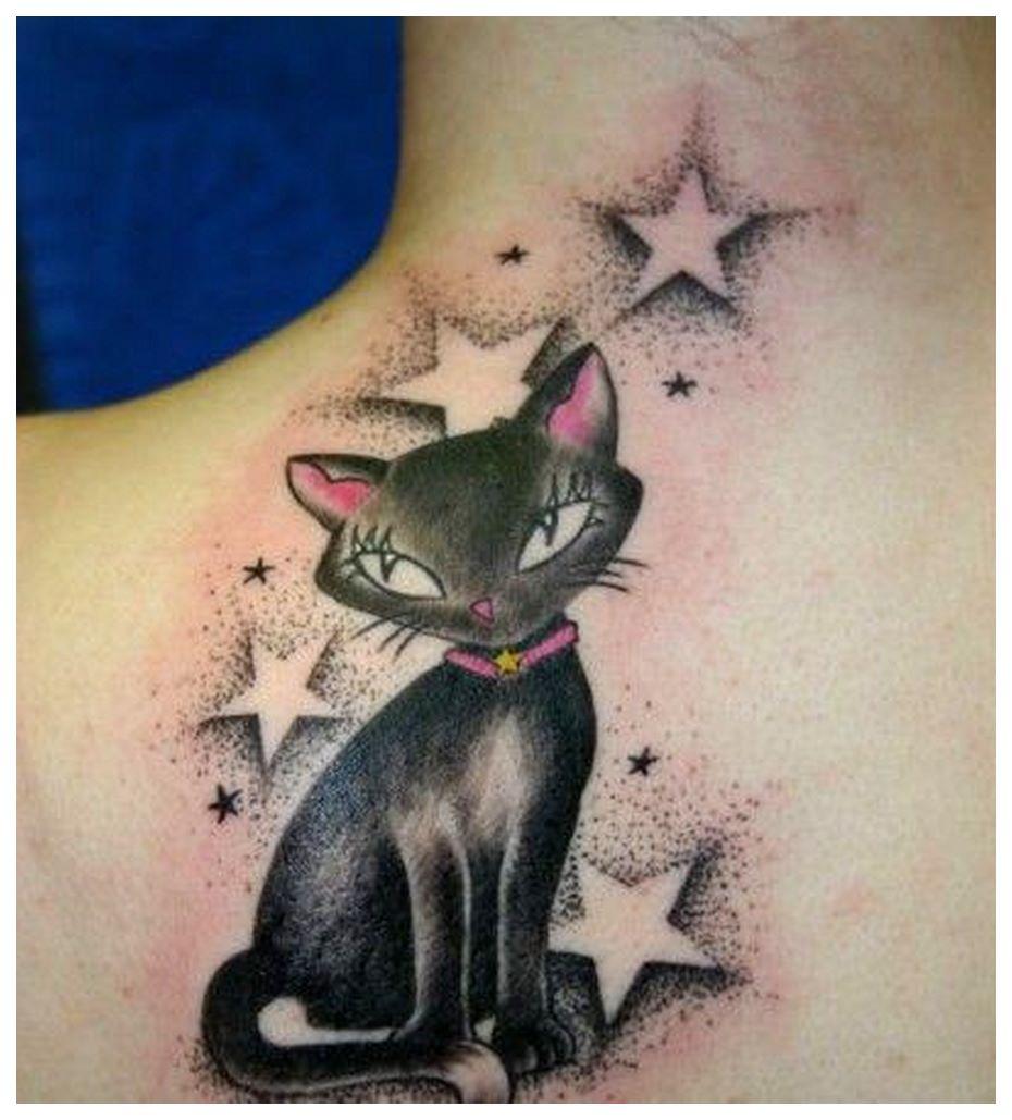 Cattoo tattoo cat