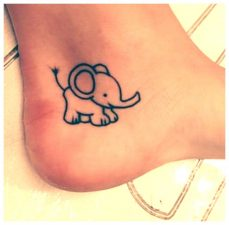 Inspirational Small Animal Tattoo That are easy and cute