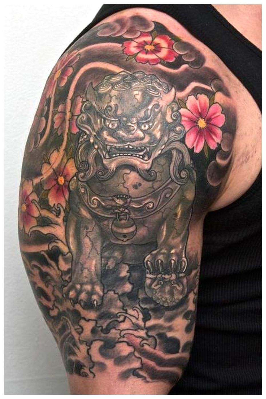 foo dog tattoo design (2)